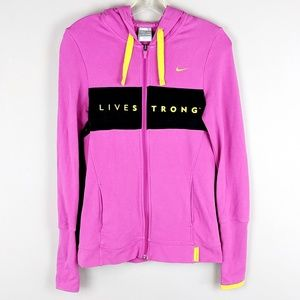 Nike | Pink Gold Running Jacket - H11